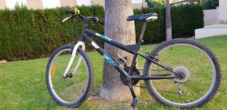 Bicicleta Decathlon 24'' niño