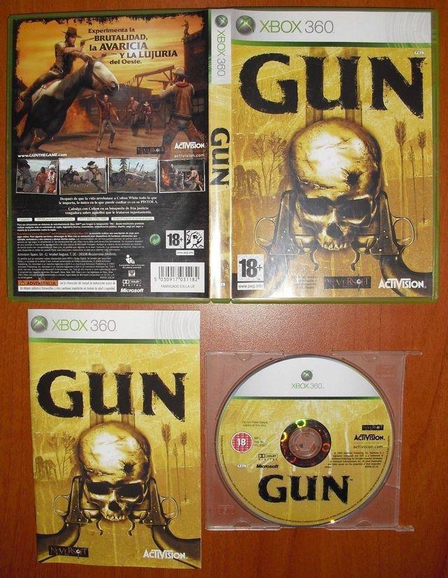 GUN, NeverSoft, Xbox 360, Pal-España