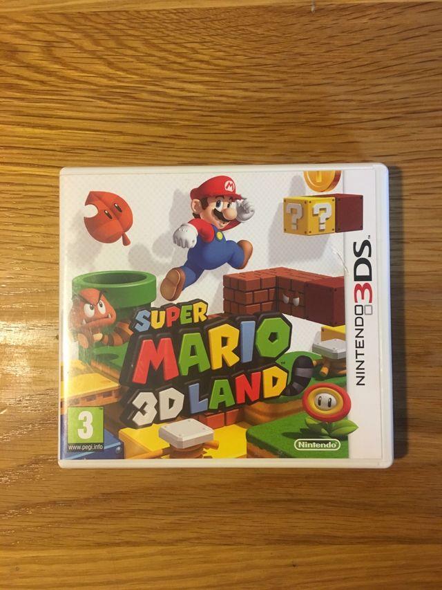 Super Mario 3d Land Juego Nintendo 3ds De Segunda Mano Por 10 En