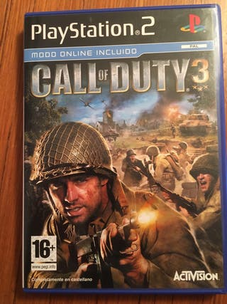 Juego ps2 - Call of duty 3