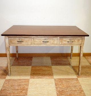 Mesa antigua cocina de segunda mano en madrid en wallapop - Mesa cocina segunda mano ...