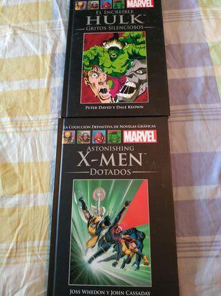 Comics Marvel Hulk y Xmen