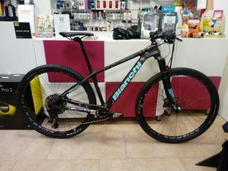 Bicicleta de montaña BIanchi Methanol Sx