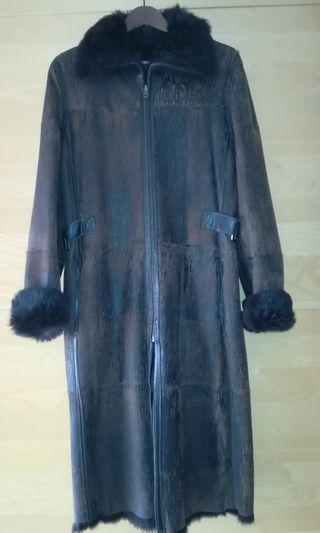 Abrigo de mujer de piel