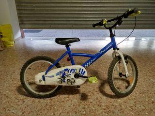 Bicicleta niño. Bicicleta niña