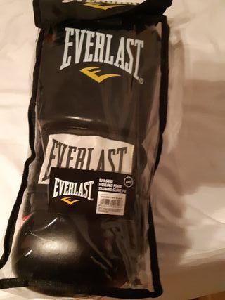 Guantes boxeo. Everlast. talla 14.