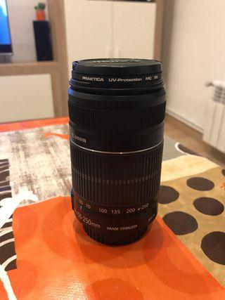 Objetivo Canon EFS 55-250mm IS II