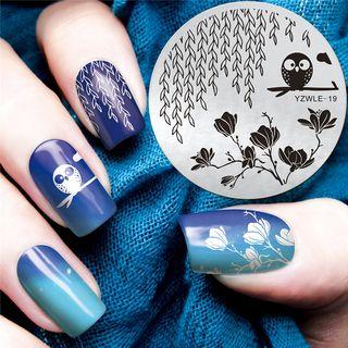 Placa de impresión de uñas