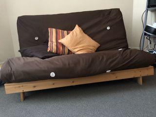 Two seats futon