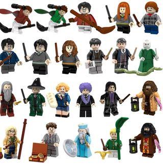 Harry Potter figuras PRECINTADAS