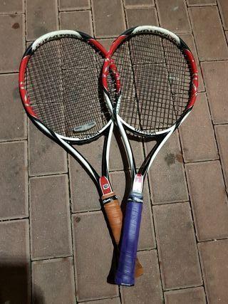 Raquetas de tenis Wilson Kfactor k six one team