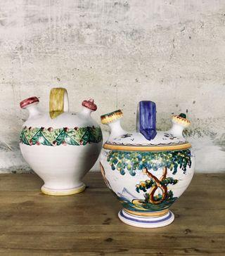 Botijos cerámica talavera