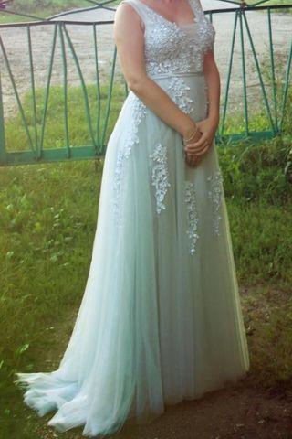 vestido de novia talla 46 de segunda mano en la provincia de madrid
