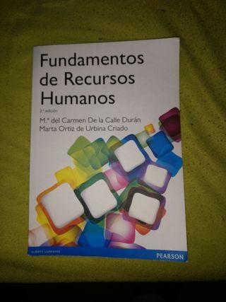 Libro Fundamentos de Recursos Humanos