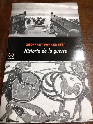Historia de la guerra.