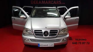 Mercedes Clase M ML 400 CDI BI-XENON,CUERO,TECHO,NAVI,7 PLAZAS
