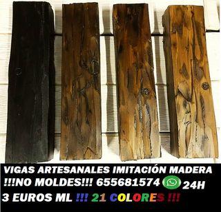 Vigas paneles imitaci n fabrica 3euros m de segunda mano - Vigas poliuretano baratas ...