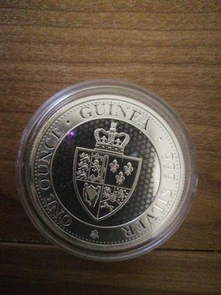 Moneda de plata Escudo de Guinea