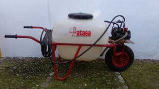 Carretilla fumigadora eléctrica 100 litros