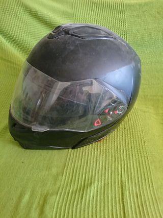 Negro De Mano Por Sol Casco Abierto Con Gafas 20 Moto Segunda MVSzpGqU