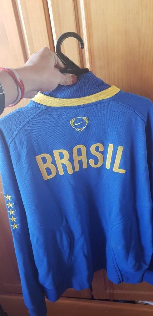 sudadera brasil nike L