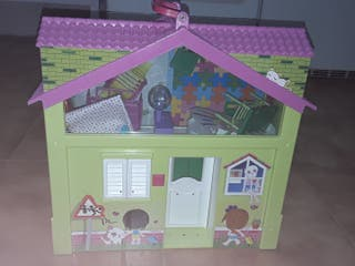 Colegio de barriguitas+ muñeca + accesorios