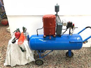 Compresor aire profesional. Negociable