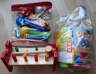 Pack 3 juguetes bebes a partir de 9 meses