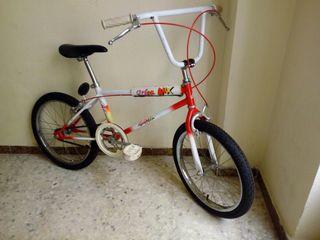 bicicleta orbea antigua de bmx.
