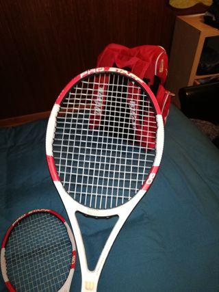 2 Raquetas Wilson Pro Staff 90