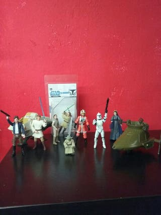 Star Wars megalote figuras + naves