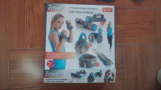 kit de pesas fitness