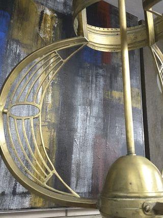 Lámpara de techo modernista