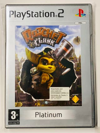 Rachet & Clank (Ps2, Platinum)