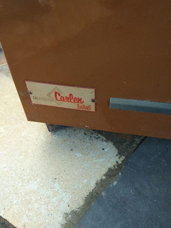 estufa de leña calefactor