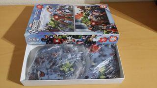 2 Puzzles 100 piezas Avengers