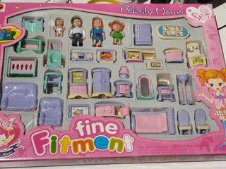 lote de miniaturas de juguete nuevo