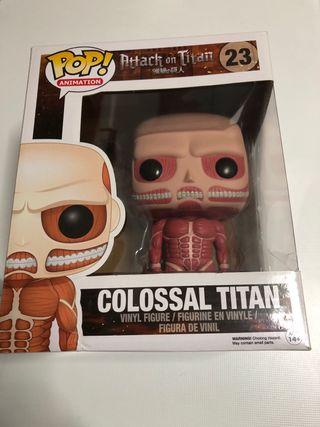 Funko Pop Colossal Titan.