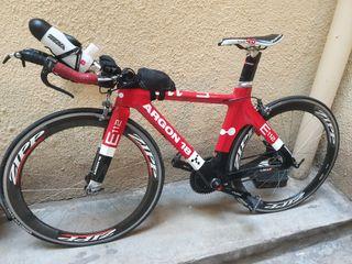 bicicleta triatlón argon 18