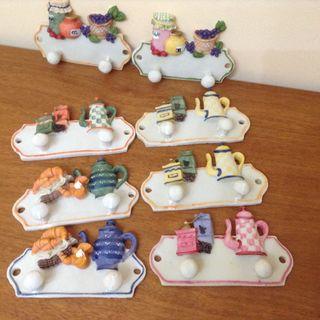 Perchas ceramica