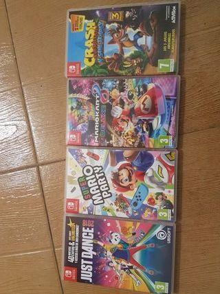 Nintendo Switch Mario Party De Segunda Mano En La Provincia De