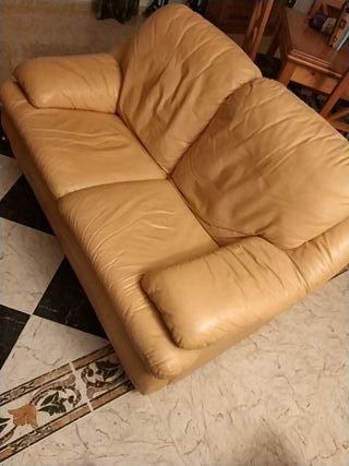 sofa piel roche 3+2