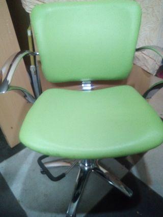 silla peluquería.