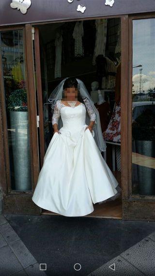 vestido de novia en perfecto estado,