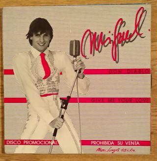 Disco de vinilo Miguel Bose