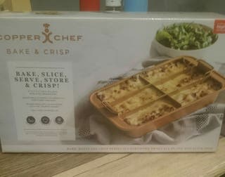 COPPER CHEF BAKE AND CRISP TRAY FOR SALE