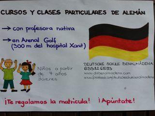 Clases particulares de alemán, profesora de alemán