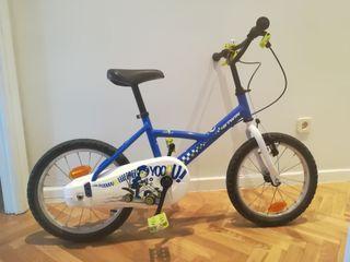"""Bici 16"""" niño / niña"""