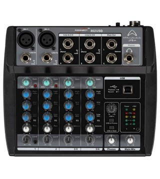 Mesa mezcladora Wharfedale 802 usb
