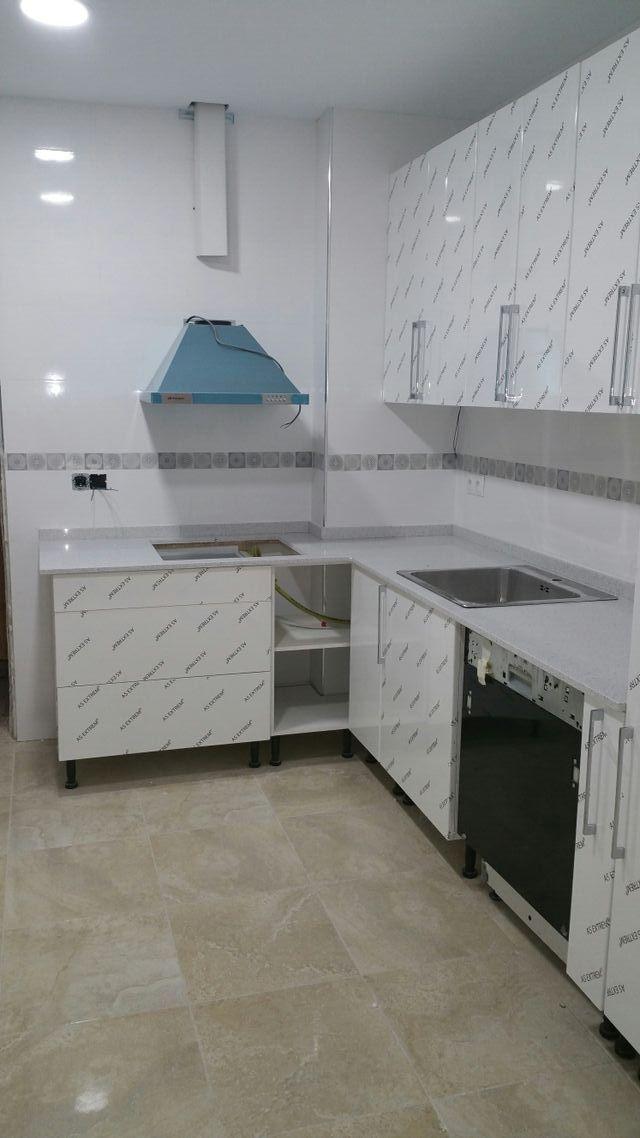 Instalación de muebles de cocina en Barcelona en WALLAPOP